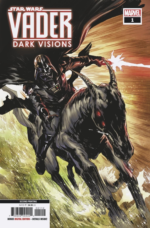 Star Wars: Vader - Dark Visions #1 (Villanelli 2nd Printing)