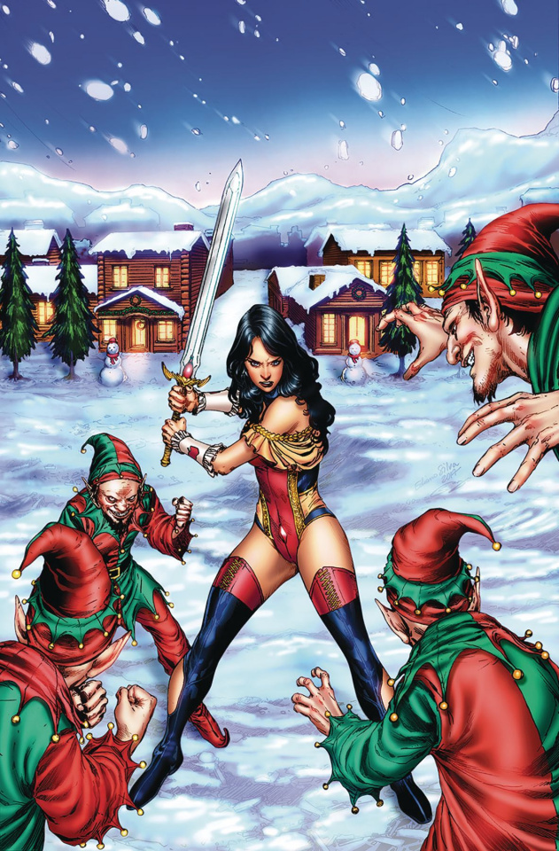 Grimm Fairy Tales 2017 Holiday Special (Silva Cover)