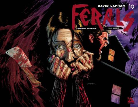Ferals #10 (Wrap Cover)