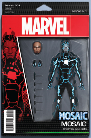 Mosaic #1 (Christopher Action Figure Cover)