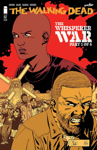 The Walking Dead #157 (Adlard & Stewart Cover)