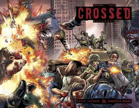 Crossed: Badlands #69 (Wrap Cover)