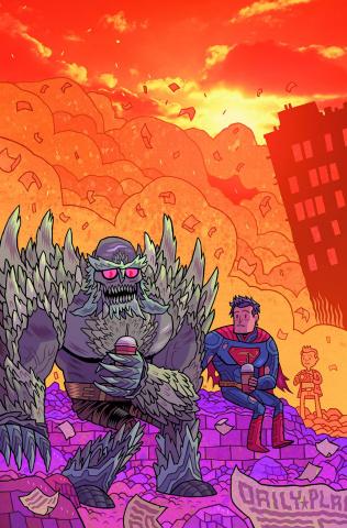 Action Comics #42 (Teen Titans Go! Cover)