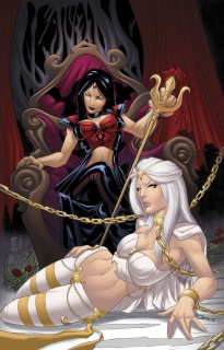 Grimm Fairy Tales: The White Queen #1 (Cafaro Cover)