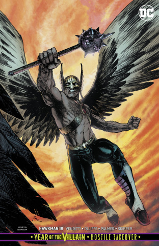 Hawkman #18 (Year of the Villain)