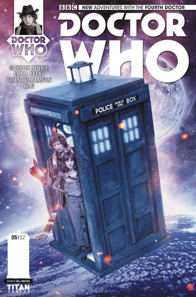 Doctor Who: New Adventures with the Fourth Doctor #5 (Photo Cover)