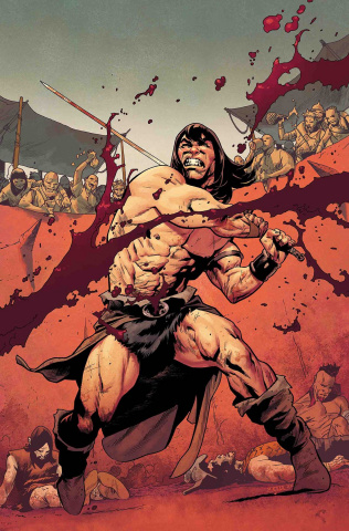 Conan the Barbarian #1 (Asrar Party Cover)