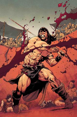 Conan the Barbarian #1 (Asrar Party Cover)