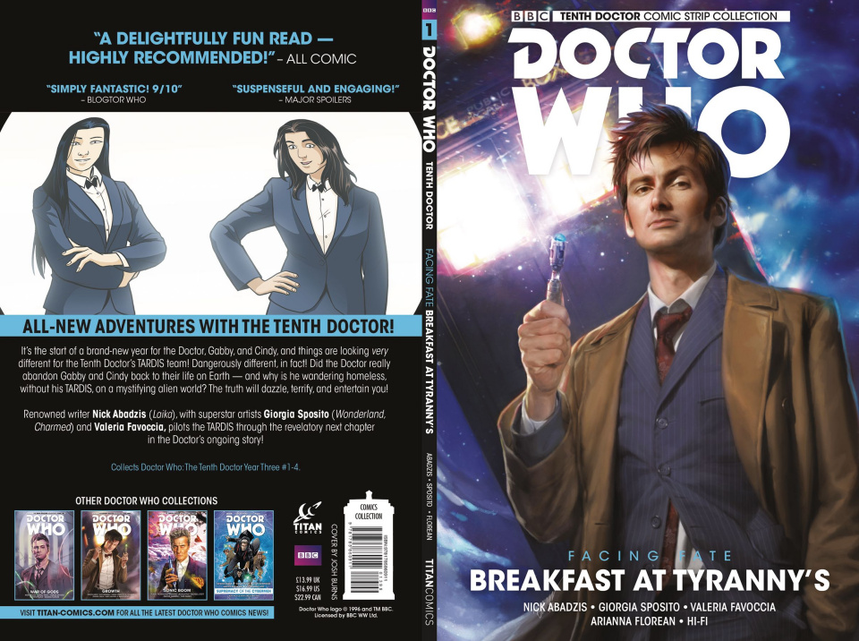 Doctor Who: Tenth Doctor Comic Strip Collection Vol. 1: Breakfast At Tyranny's