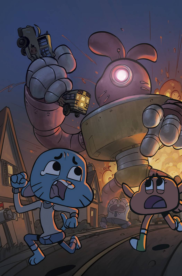 The Amazing World of Gumball #4 (20 Copy Cover)