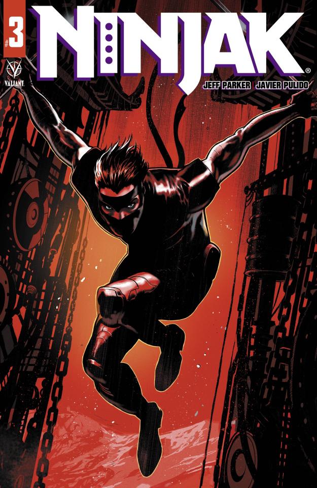 Ninjak #3 (Dagnino Cover)