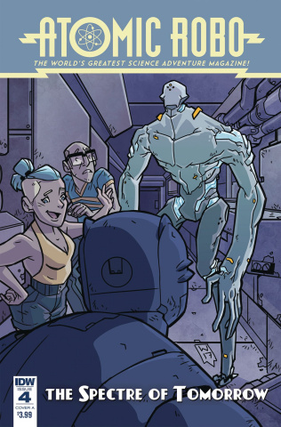 Atomic Robo: The Spectre of Tomorrow #4 (Wegener Cover)