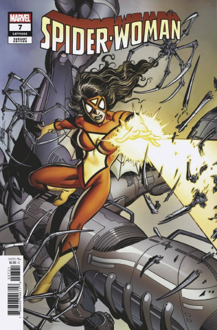 Spider-Woman #7 (Perez Hidden Gem Cover)
