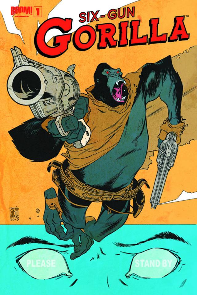 Six Gun Gorilla #1
