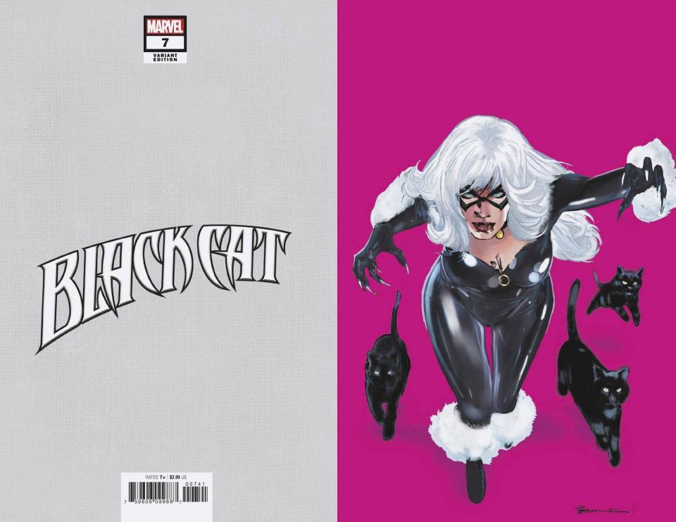 Black Cat #7 (Jimenez Pride Month Virgin Cover)