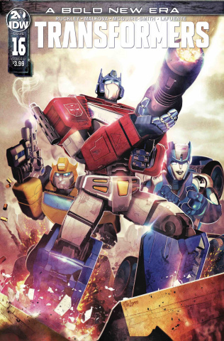 The Transformers #16 (Laren Cover)