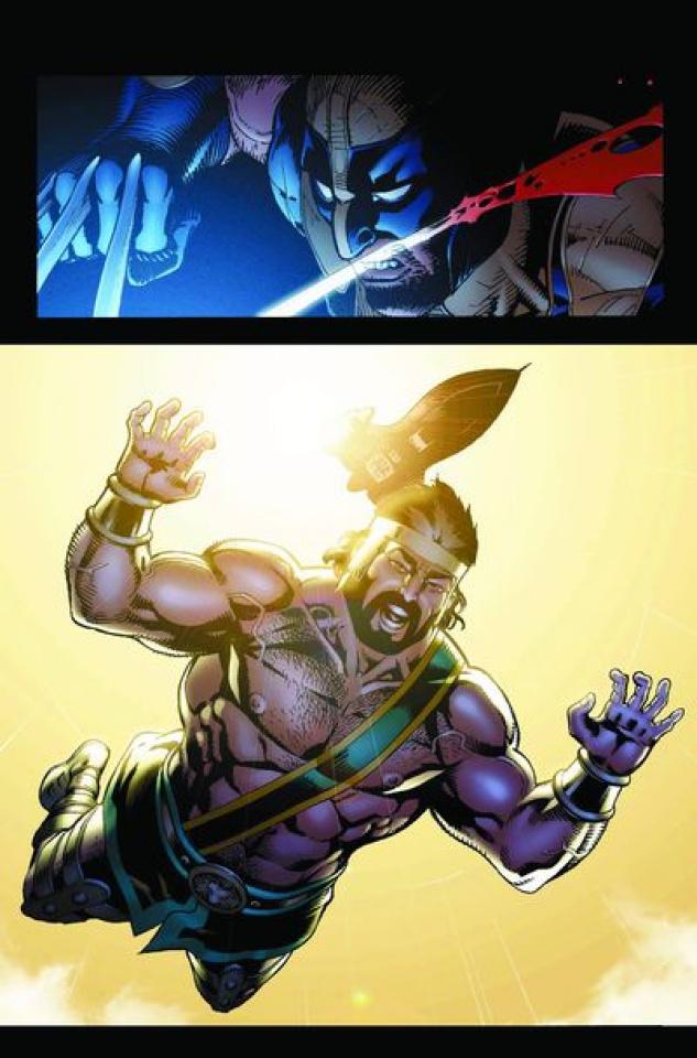 Wolverine/Hercules: Myths, Monsters & Mutants #4