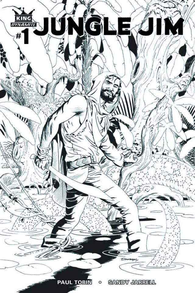 Jungle Jim #1 (10 Copy Cooke B&W Cover)
