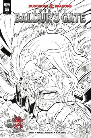 Dungeons & Dragons: Evil at Baldur's Gate #5 (10 Copy Mortarino Cover)