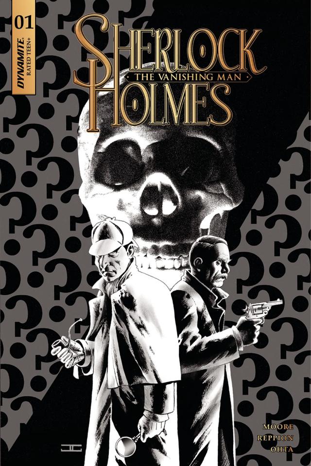 Sherlock Holmes: The Vanishing Man #1 (20 Copy Cassaday B&W Cover)