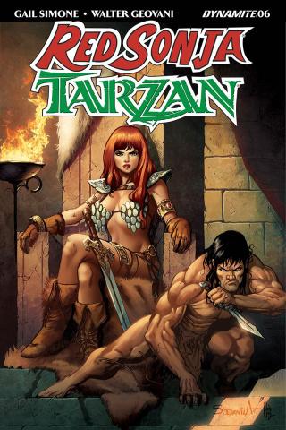 Red Sonja / Tarzan #6 (Davila Cover)