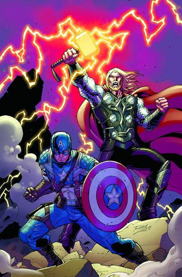 Cap and Thor: Avengers #1