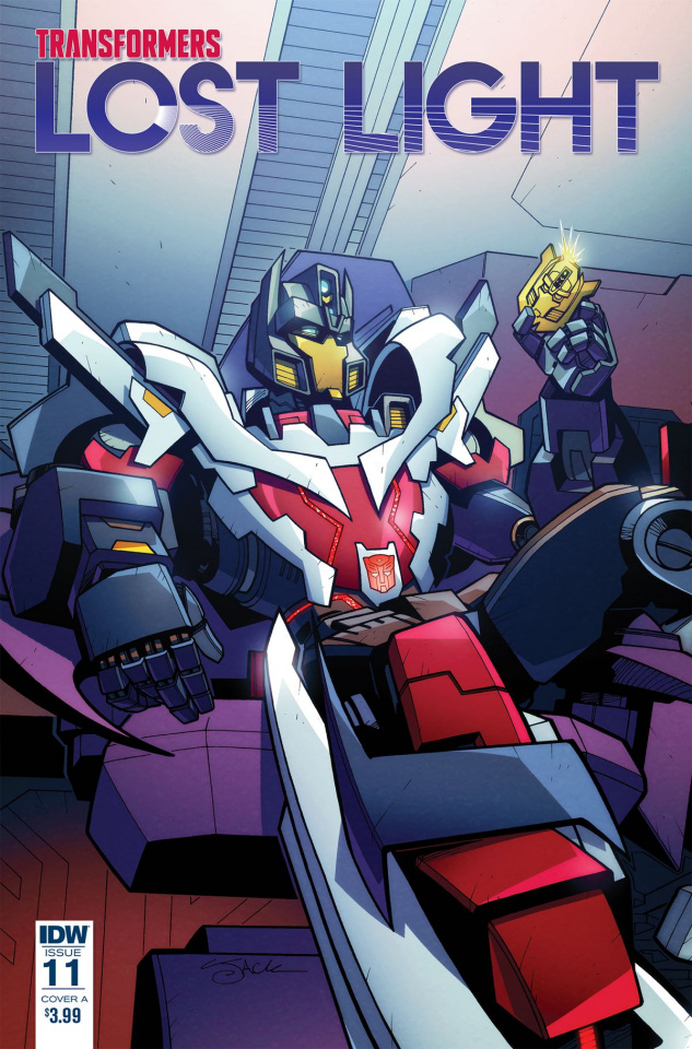 The Transformers: Lost Light #11 (Lawrence Cover)