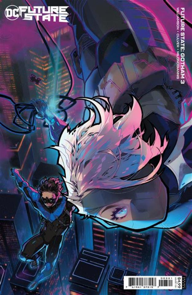 Future State: Gotham #3 (Rose Besch Card Stock Cover)