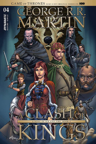 A Game of Thrones: A Clash of Kings #4 (Rubi Cover)