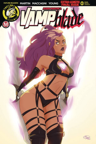 Vampblade #50 (Huang Cover)