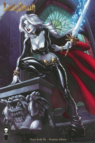 Lady Death: Chaos Rules #1 (J. Scott Campbell Premium Cover)