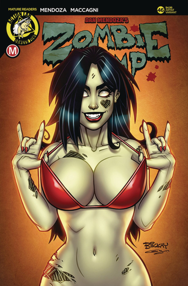 Zombie Tramp #46 (McKay Cover)