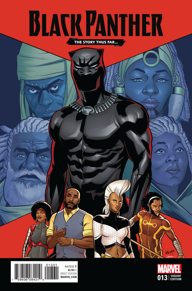 Black Panther #13 (Torres Story Thus Far Cover)