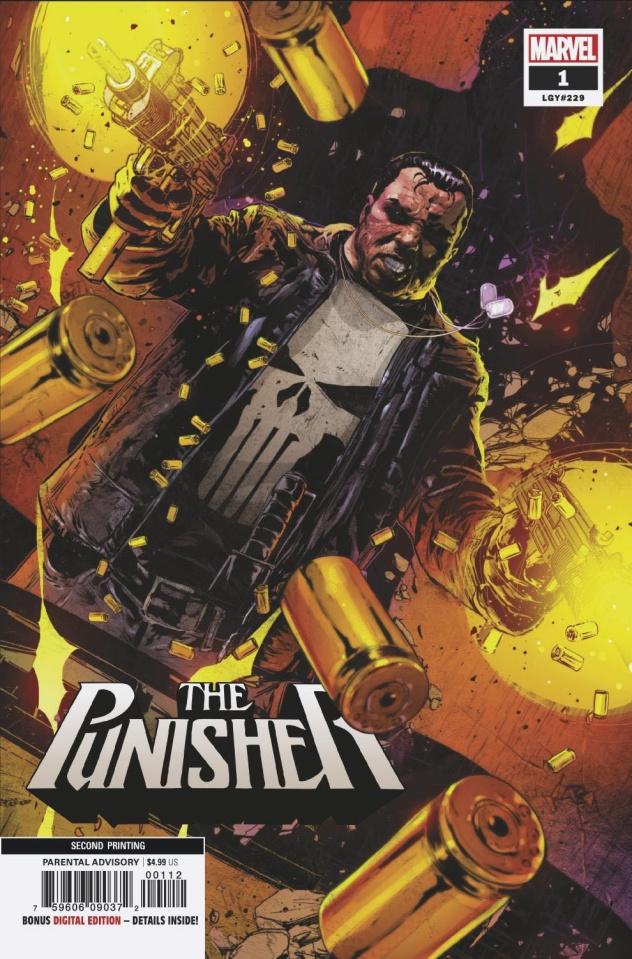 Punisher #1 (Kudranski 2nd Printing)