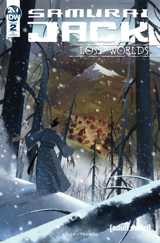 Samurai Jack: Lost Worlds #2 (10 Copy Pitre Durocher Cover)