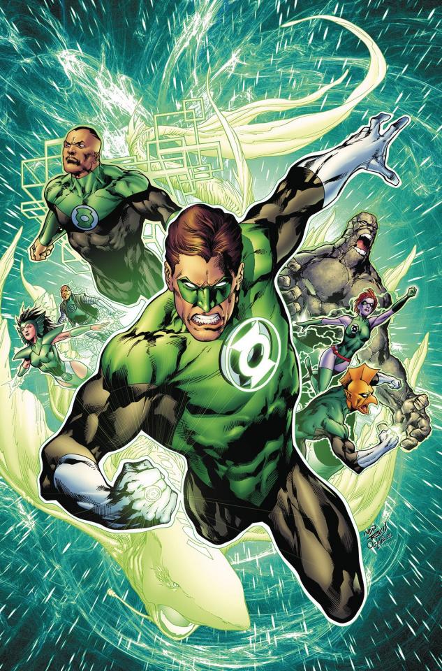 Green Lantern by Geoff Johns Book 3