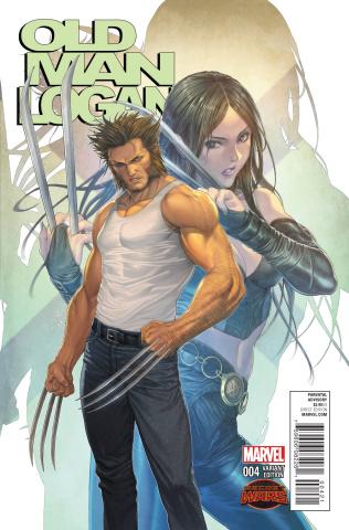Old Man Logan #4 (Homare Manga Cover)