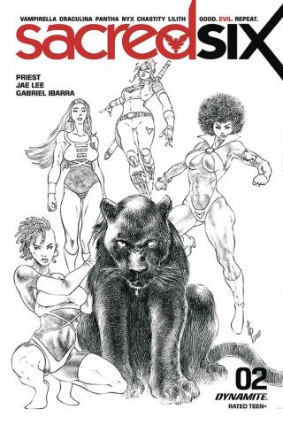 Sacred Six #2 (Quah Cover)
