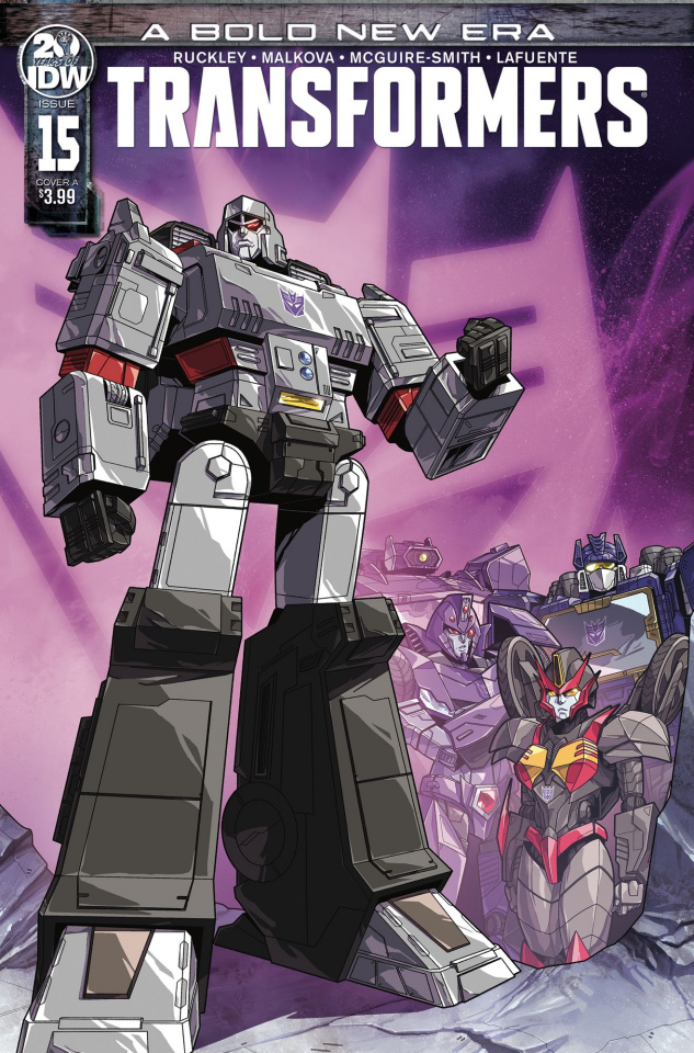 The Transformers #15 (Perez Cover)