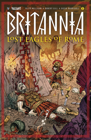 Britannia: Lost Eagles of Rome #3 (20 Copy Cover)