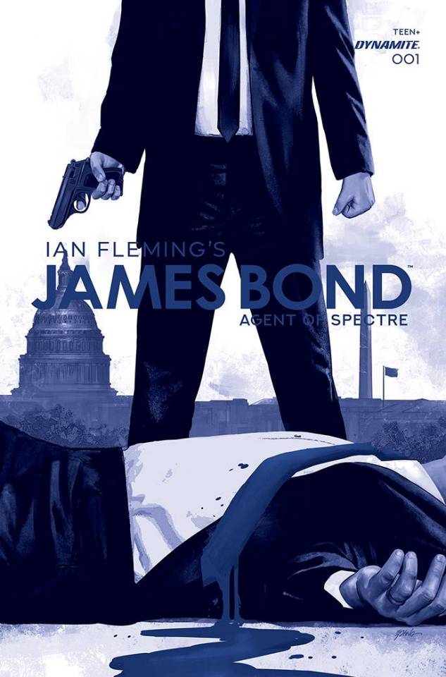 James Bond: Agent of SPECTRE #1 (11 Copy Epting Tint Cover)