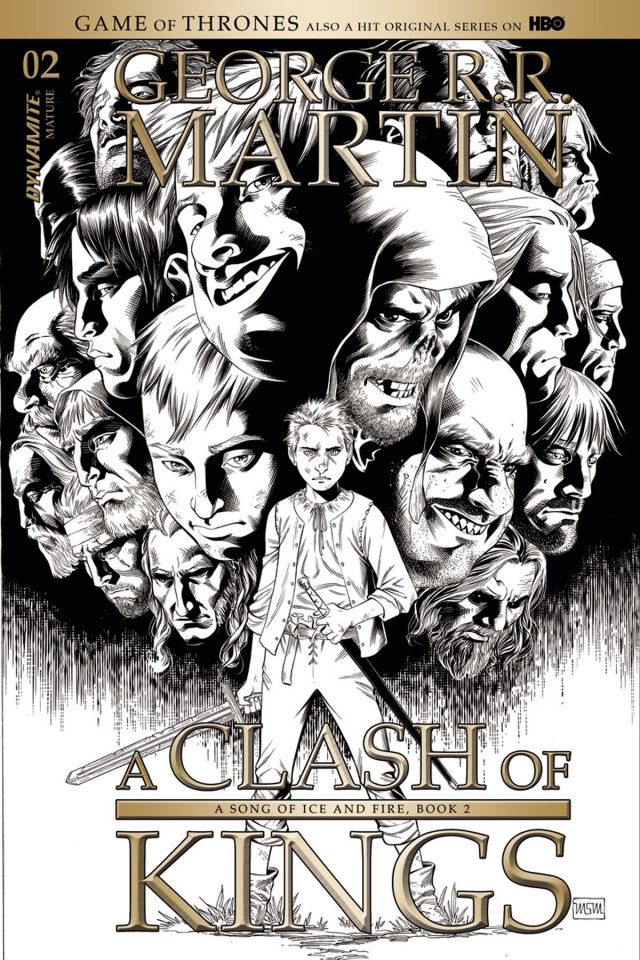 A Game of Thrones: A Clash of Kings #2 (10 Copy Cover)