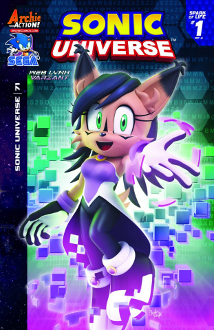 Sonic Universe #71 (Lynx Cover)