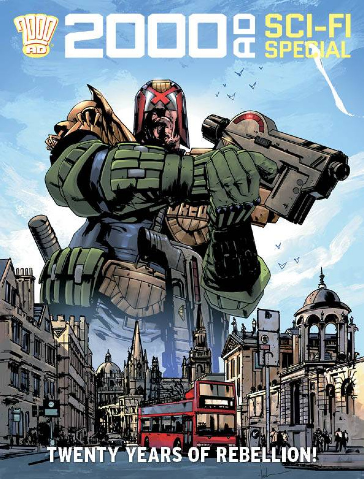 2000 AD Summer Sci-Fi Special 2020
