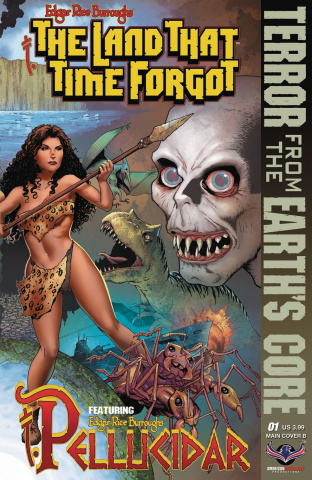 The Land That Time Forgot: From Earth's Core #1 (Connecting Cover B)