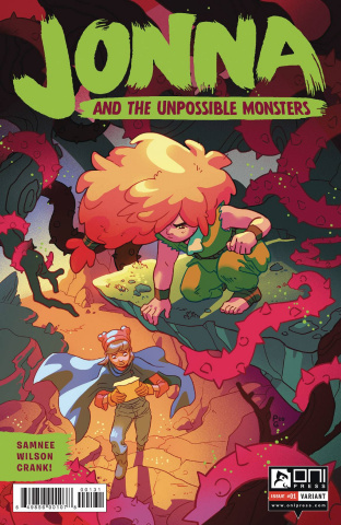 Jonna and the Unpossible Monsters #1 (Ganucheau Cover)