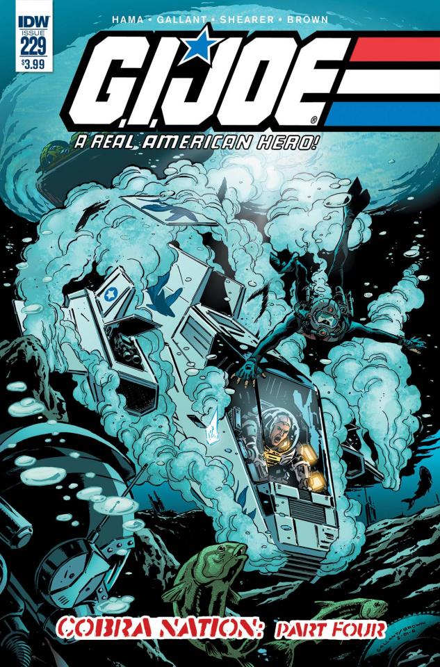 G.I. Joe: A Real American Hero #229