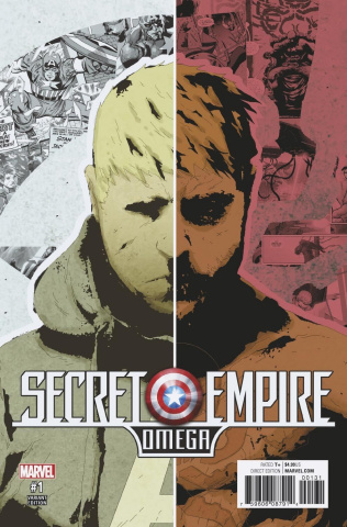 Secret Empire: Omega #1 (No More Hydra Cover)