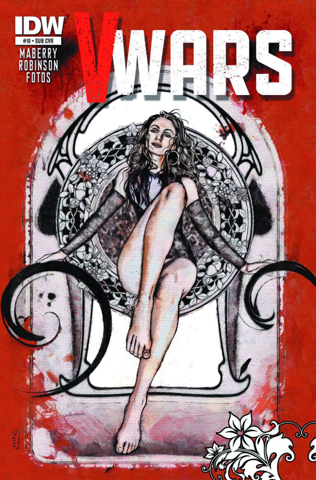 V-Wars #10 (Subscription Cover)