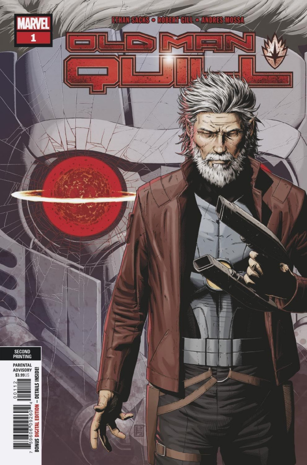 Old Man Quill #1 (Gill 2nd Printing)